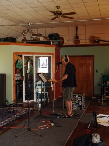 Marcsonic recording at Sparta Sound, July 2013
